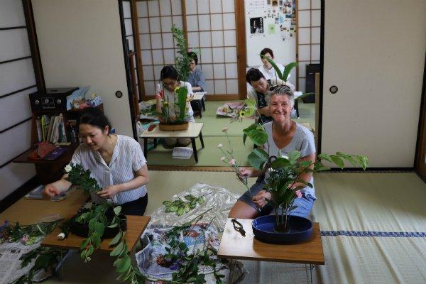 Anor japansk vaser ikebana
